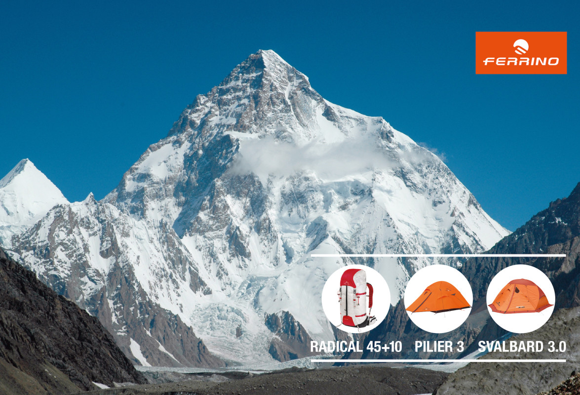 Ferrino takes part In The Winter Polish Expedition on K2.