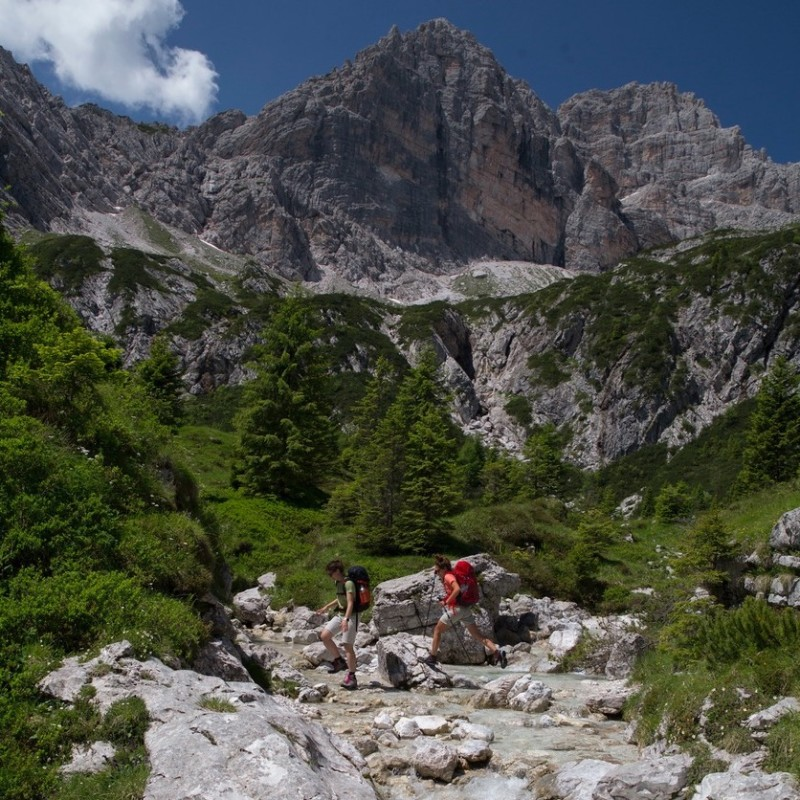 A new Alta Via into the wildest hearth of Dolomites