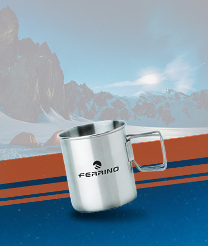 Get an exclusive free Ferrino cup with any purchase*