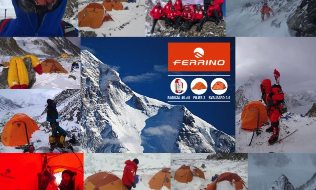 FERRINO SUPPORTS THE DECISION OF THE WINTER POLISH EXPEDITION ON K2