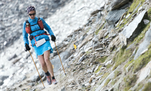 Ferrino Women Team alla partenza dell'Adamello Ultra Trail