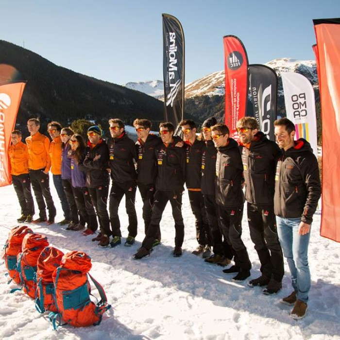 Ferrino with Catalan Ski Mountaineering National Team - en